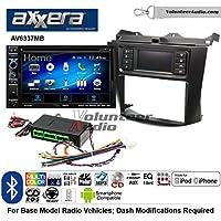Volunteer Audio Axxera AV6337MB Double Din Radio Install Kit with Bluetooth CD/DVD Player Fits 2003-2007 Honda Accord