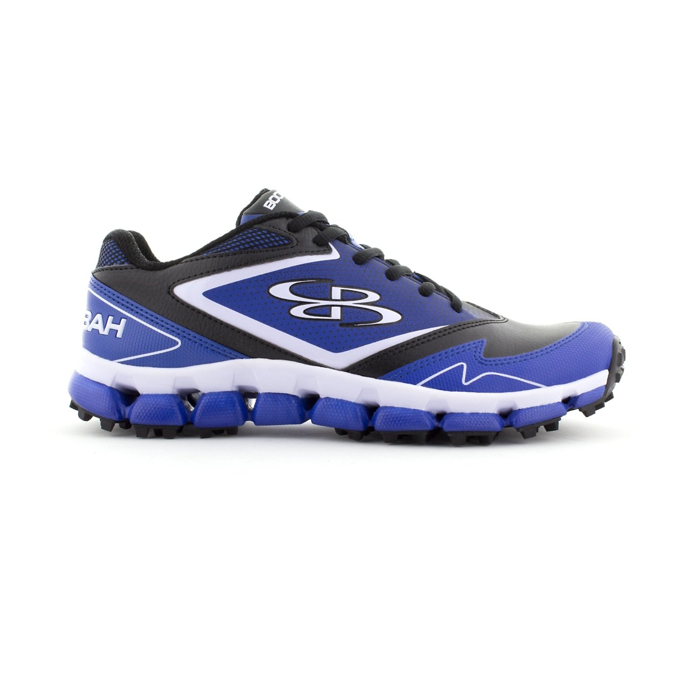 Boombah Women's A-Game Turf Black/Royal Blue - Size 10