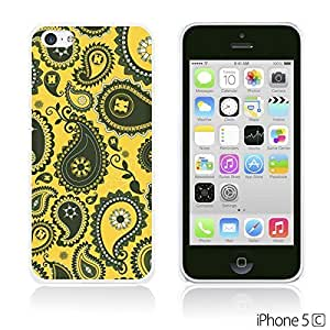Flower Pattern Hardback For SamSung Galaxy S4 Mini Case Cover - Black Paisley