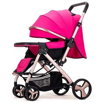 MOIMK Cochecito De Bebé Plegable, Ligero, Fácil De Usar, Sistema Plegable, Cochecito