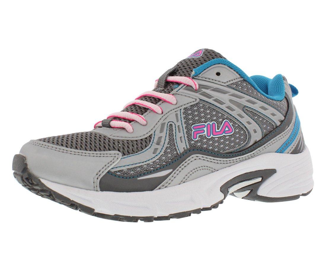 Fila Validation Women's Running Shoes B019Z2BJXU 9.5 B(M) US|Dark Silver/Atomic Blue/Knockout Pink