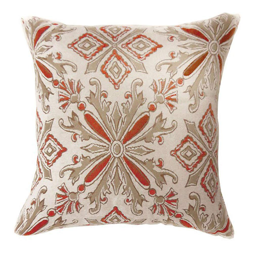Benzara BM131609 Contemporary Cushion Set of Two Multicolor Multi Color