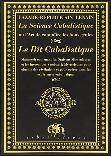 En ligne La Science Cabalistique - Le Rit Cabalistique epub, pdf