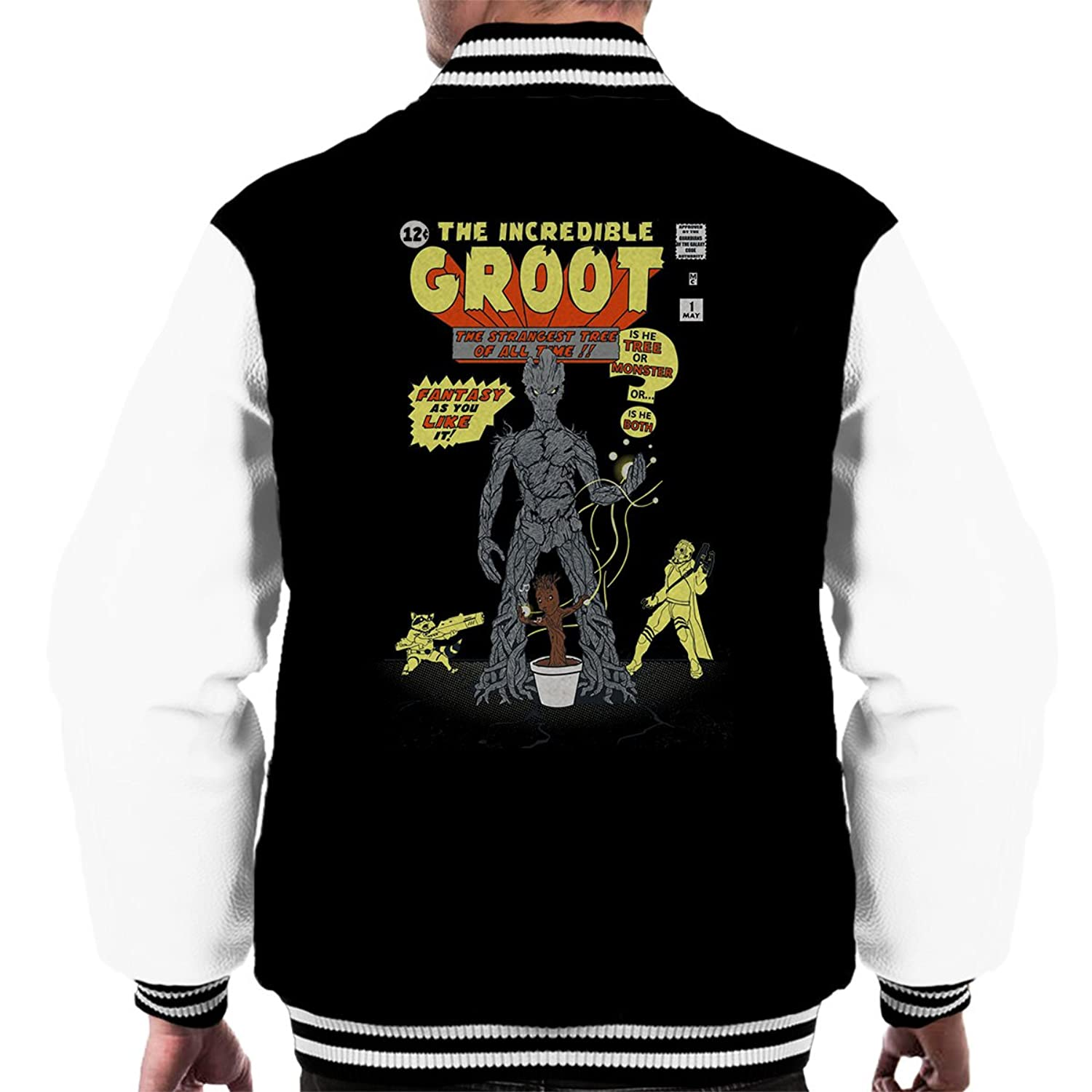 Guardians of the Galaxy The Incredible Groot Men's Varsity Jacket