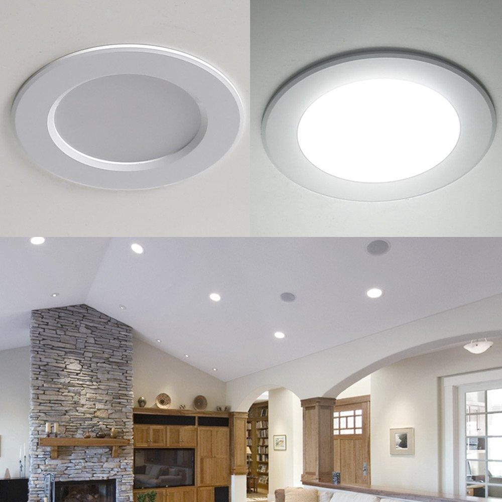 Recessed Ceiling Simple Kitchen Lighting Ideas