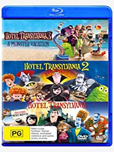 Hotel Transylvania Trilogy Blu-ray Collection Box set: Hotel Transylvania / Hotel Transylvania 2 / Hotel Transylvania 3: Summer Vacation 3 Movies
