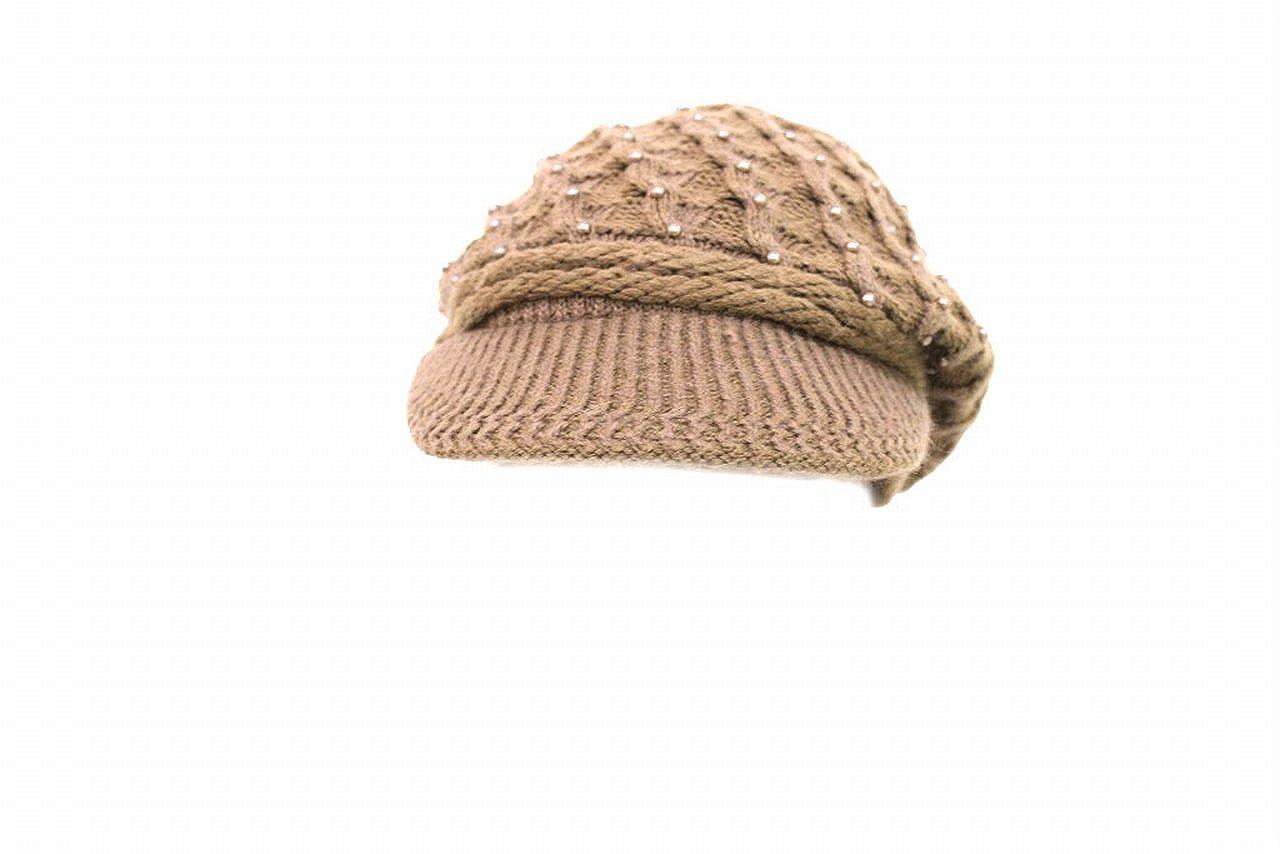 Cappello donna con visiera gian marco venturi l.perline