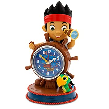 Amazon.com: Disney Jake and the Never Land Pirates Clock: Kitchen ...