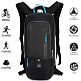 Cycling Rucksack,Lightweight Ski Rucksack,Mini Riding Backpack, Waterproof Lightweight Mountain Cycling Backpack, Breathable Shoulder Bag for Running Hiking Climbing Cycling Outdoor Sport