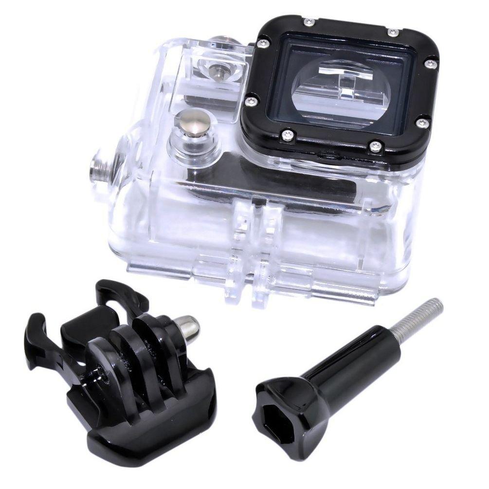 GoPro Hero 3防水ケース防水ケース、防水ケースGoPro、Hangang交換用防水保護Diveハウジングケースfor GoPro Hero 3 + 3カメラ – Underwater 45メートル   B07DNXP1H1