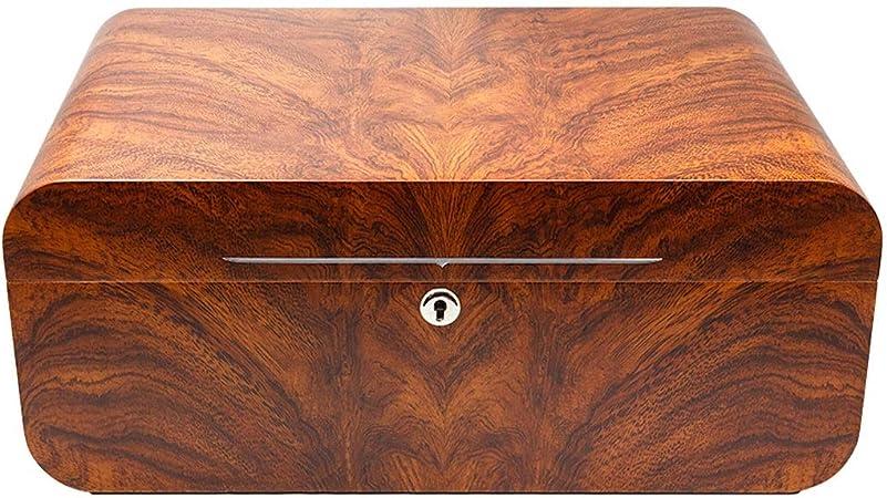 Caja de cigarros, humidor, Humidor, Madera de Cedro Caja de cigarros, Duradero, Puede sostener el 80 y el 100 (Size : 40x26x17cm): Amazon.es: Hogar