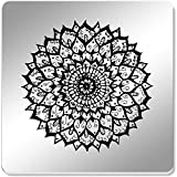 Azeeda 6 x 'Elegant Mandala' 95mm Mirror Coasters (CR00119905)