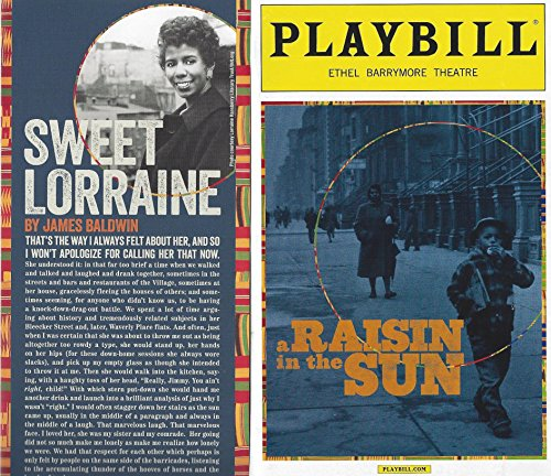 A Raisin in the Sun Playbill March 2014 on Broadway Ethel Barrymore Histrionic arts by Lorraine Hansberry Directed by Kenny Leon With Denzel Washington Sophie Okonedo Anika Noni Rose Latanya Richardson Jackson
