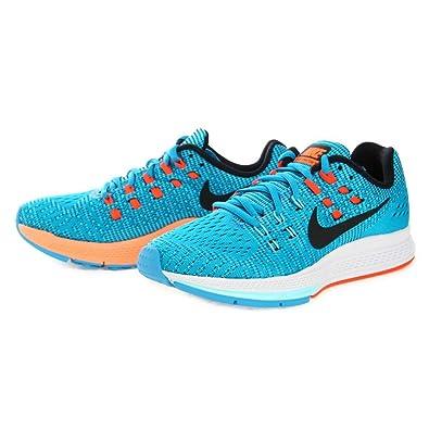 Damen Nike Luft Zoom Structure 19 blau lagune Laufschuhe
