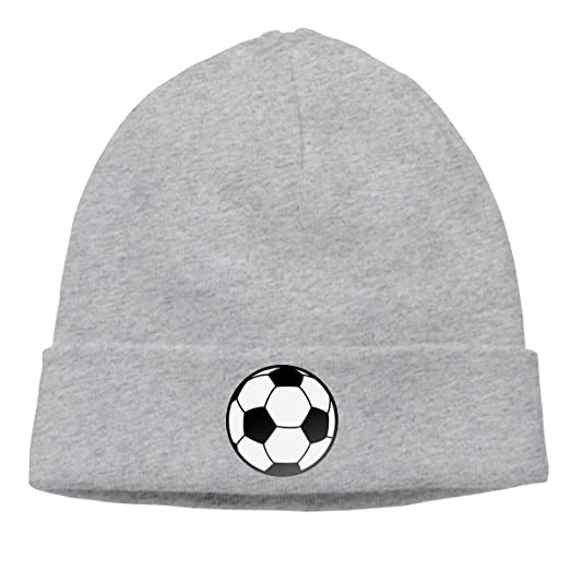 57c6e5b9a82b61 Image Unavailable. Image not available for. Color: Beanie Hats for Men  Women, Soccer Ball Skull Cap Warm
