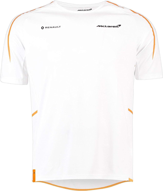 McLaren Renault F1 - Camiseta de Manga Corta (2018), S: Amazon.es ...