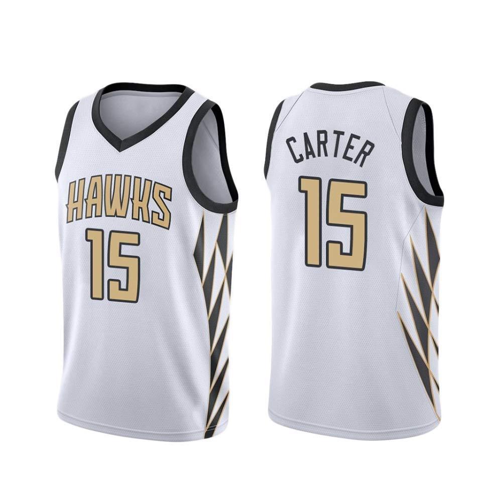 Jerseys De Baloncesto Para Hombres - Carter # 15 Atlanta Hawks ...