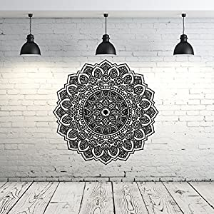Mandala Wall Decal Yoga Studio Vinyl Sticker Decals Ornament - Yoga studio wall decals