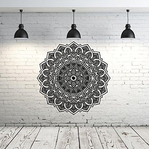 Mandala Wall Decal Yoga Studio Vinyl Sticker Decals Ornament