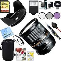 Tamron (AFA007N-700) SP 24-70mm f2.8 Di VC USD Lens for Nikon Mount + 64GB Ultimate Filter & Flash Photography Bundle