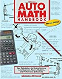 img - for Auto Math Handbook HP1554: Easy Calculations for Engine Builders, Auto Engineers, Racers, Students, and Per formance Enthusiasts by John Lawlor (2011-09-06) book / textbook / text book