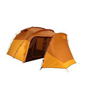 This best camping tent photo shows The North Face Wawona 6 Tent.