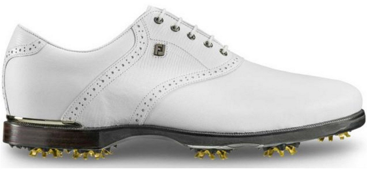 FootJoyアイコンブラックサドルゴルフシューズ B01IO5LCFY 10 D(M) US|White/White-n White/White-n 10 D(M) US