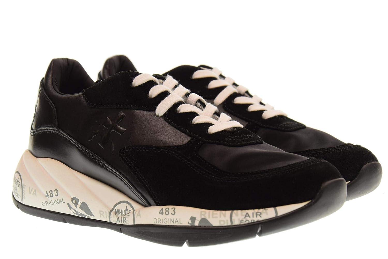PREMIATA Schuhe Schuhe Schuhe Frau niedrige Turnschuhe Scarlett 3486 schwarz 512fcb