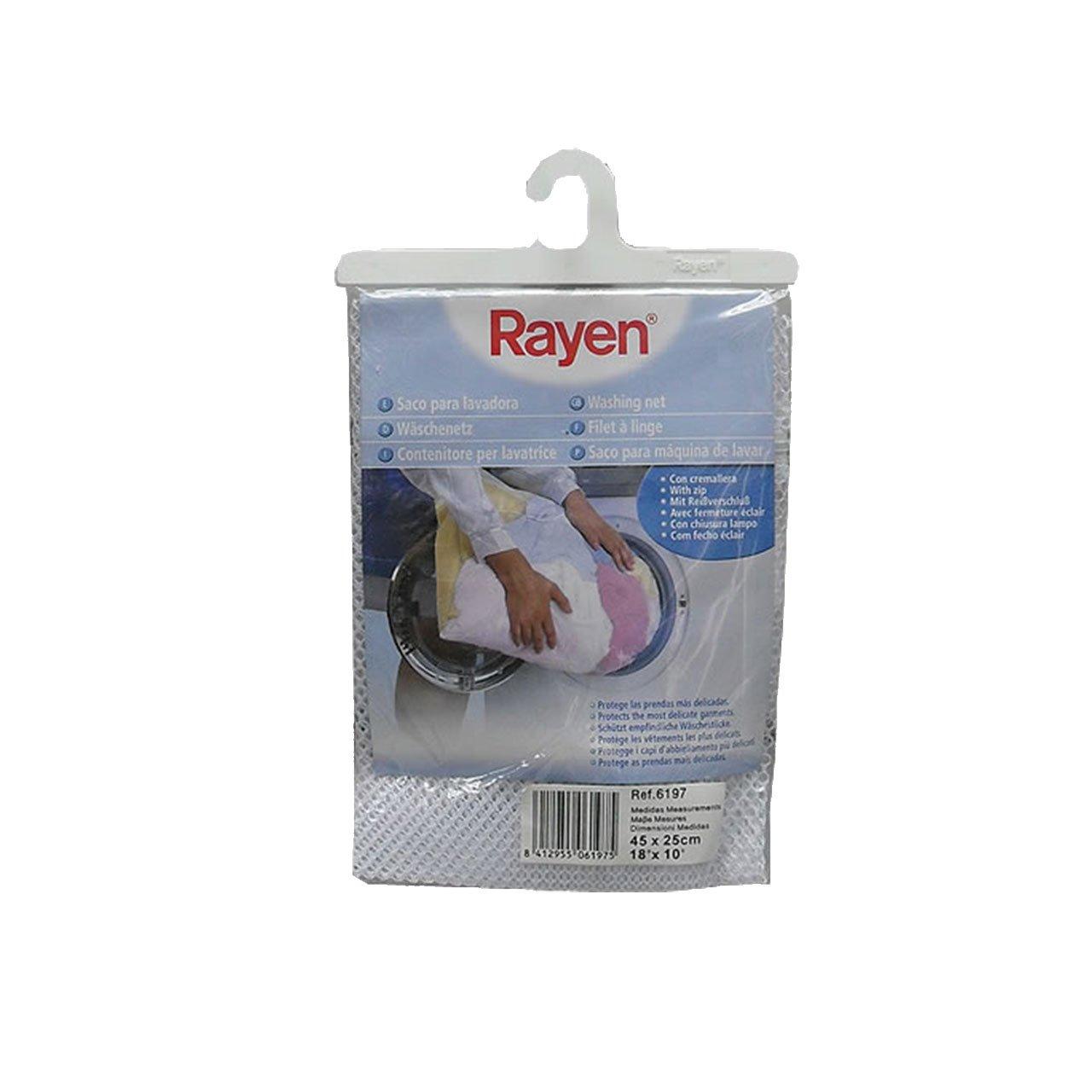 Rayen 6197.50 - Saco para lavadora, 45 x 25 cm, color blanco ...
