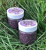 GRAPE POPSICLE Edible Lip Scrub - BLASTED with Grape Flavor (1oz Single Jar)