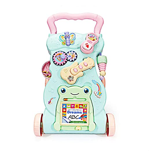 ZYP Baby Walker, Light Color Trolley Early Learning Puzzle ...