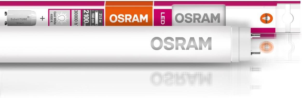 3000 Kelvin OSRAM LED Leuchtstoffr/öhre Substitube Value T8 Warmwei/ß LED-R/öhre in 60cm L/änge mit G13-Sockel Ersetzt 18 Watt 8er-Pack