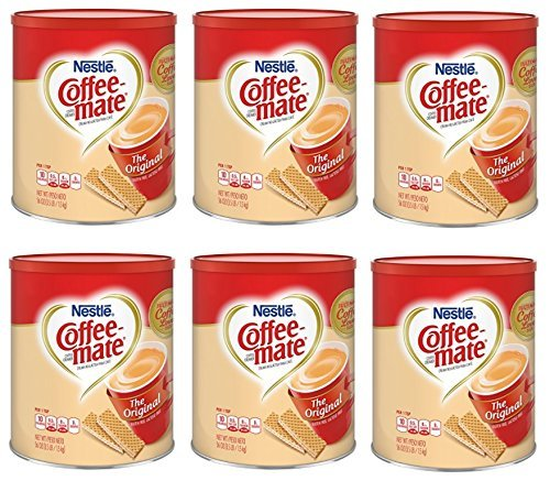 Nestle Coffee-mate Coffee Creamer 56oz. Canister (6 Pack) by Nestle (Image #4)