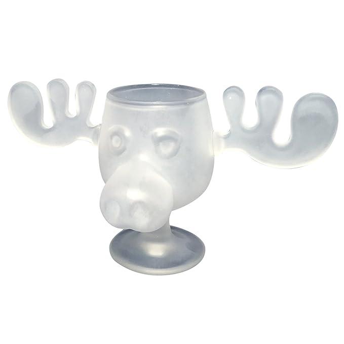 cultica christmas vacation moose mug limited edition set frosted glass moose mug and handmade candy cone stirrer - Christmas Vacation Moose Mug Set
