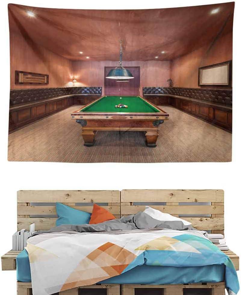 HuaWuChou Juego de Billar Snooker Mesa Tapiz artístico, tapices para Dormitorio Sala de Estar Dormitorio, poliéster, Estilo-07, W36 x L24: Amazon.es: Hogar