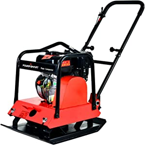 PowerSmart PS8810 6.5HP 3600-Pound Compaction Force Plate Compactor, CARB Compliant