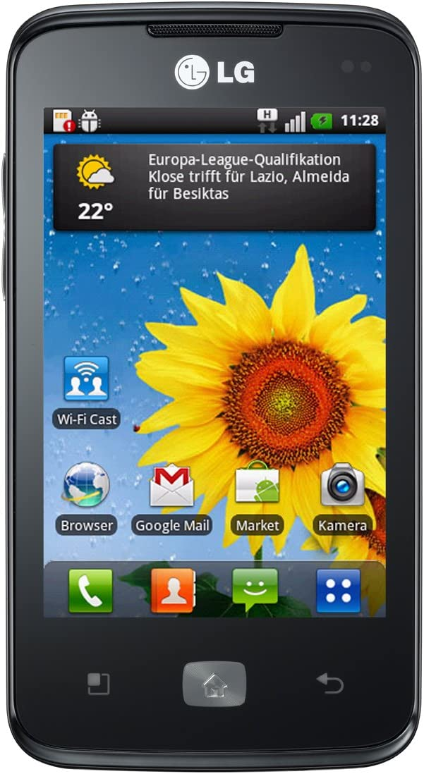 LG E510 Optimus Hub - Smartphone libre Android (pantalla de 3,5 ...