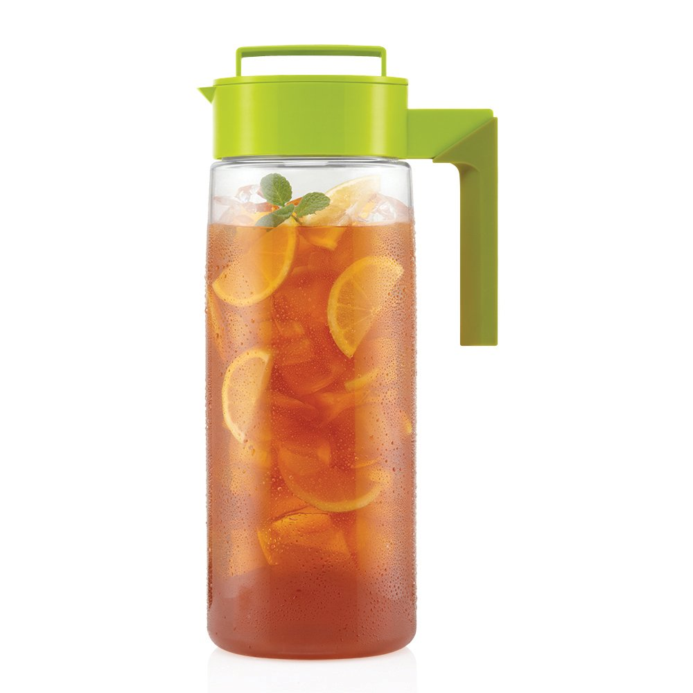 Takeya Iced Tea Maker with Patented Flash Chill Technology Made in USA, 2 Quart, Avocado by Takeya (Image #3)