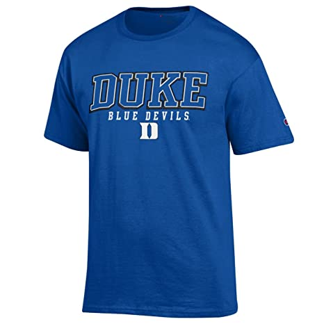 9f98ee6d Amazon.com : Champion Duke Blue Devils Adult Arch Logo T-Shirt ...