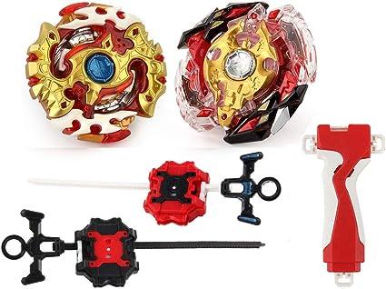 Burst Beyblade Starter Set Launcher Set Kids Child Spinner Burst Toy Gift Solid