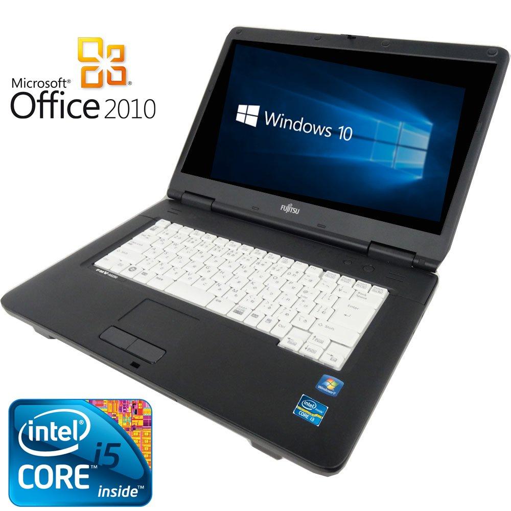 お手頃価格 【Microsoft B01J9SV7K0 Office 2010搭載】 250GB)【Win 10+永久セキュリティソフト】富士通A550/A/新世代Core ハードディスク i5 2.4GHz/大容量メモリ4GB/DVDドライブ/大画面15インチ/無線LAN搭載/中古ノートパソコン (ハードディスク 250GB) B01J9SV7K0 ハードディスク 160GB ハードディスク 160GB, Smile Garden&EX:4d38375e --- arianechie.dominiotemporario.com