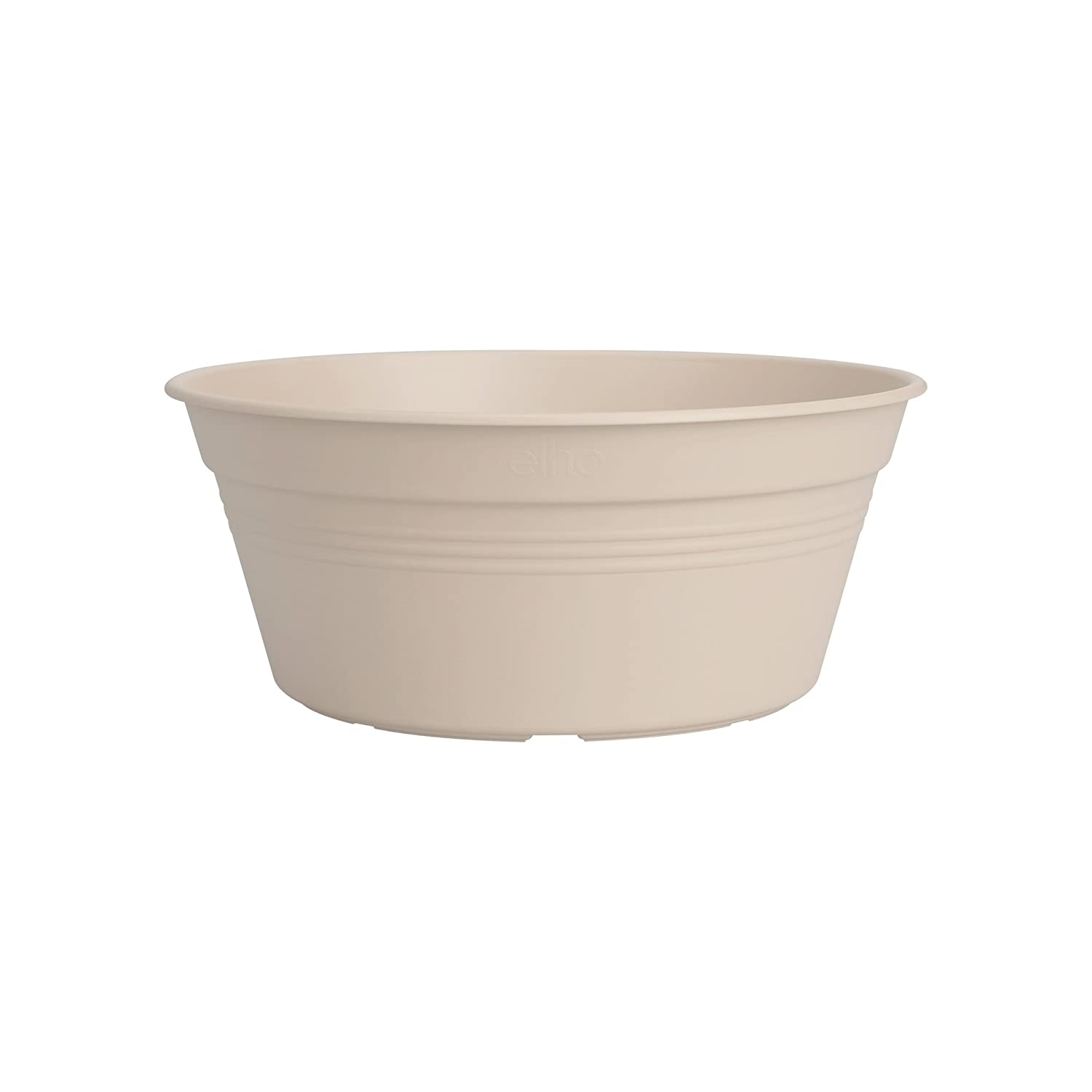Elho green basics bowl 27cm flowerpot - cotton white 3151162745300