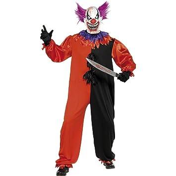 Traje de payaso siniestro disfraz Halloween vestuario horror ...