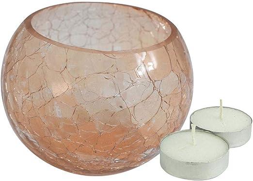 Di/ámetro de 14/cm, porcelana T/é calentador de vela