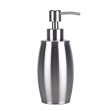 Soap Dispenser, ARKTEK Premium 304 Stainless Steel Soap And Liquid Dispenser  For Kitchen And Bathroom