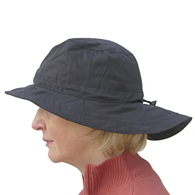 455913e3d86 Image Unavailable. Image not available for. Colour  Daily Sports Ladies  Long Brim Waterproof Golf Rain Hat ...