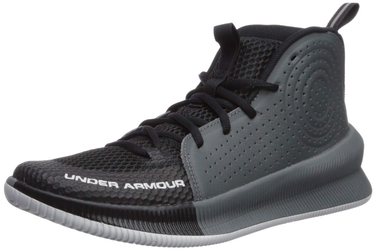 Under Armour Women's Jet 2019 Basketball Shoe, Black (001)/Pitch Gray, 9.5 M US by Under Armour