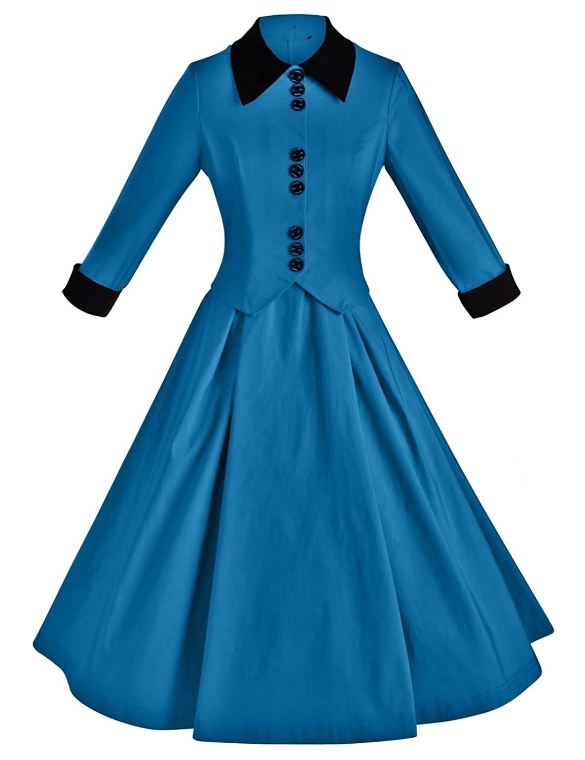 GownTown Women\'s Vintage 1950s Retro Rockabilly Prom Dresses at ...