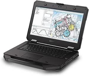 Dell Latitude 5414 Rugged Business Laptop Notebook, 14 inch FHD (1920x1080) LCD, Intel Core i5-6300U, 8GB Ram, 512GB SSD, WiFi, Windows 10 Professional (Renewed)