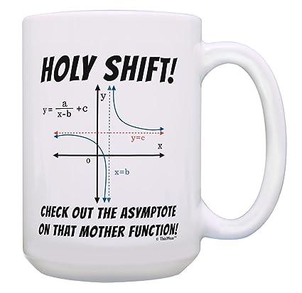 Mug Pun Coffee Tea Cup Holy Geek 15 White Joke Gifts For Math Shift Oz LA4qc3Rj5S